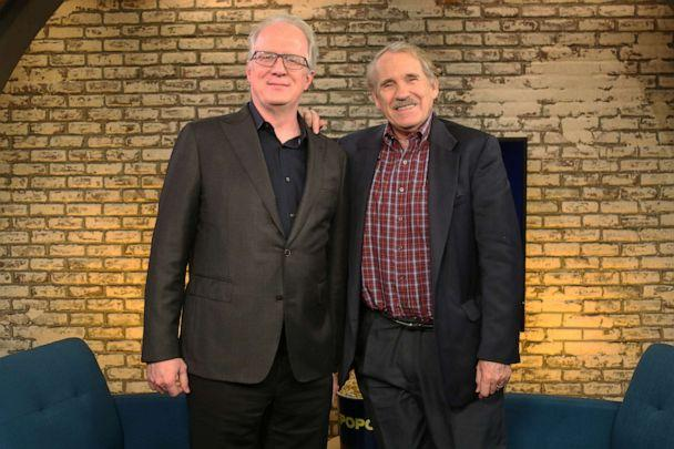 PHOTO: Tracy Letts appears on 'Popcorn with Peter Travers' at ABC News studios, October 16, 2019, in New York City. (Amr Alfiky/ABC News)