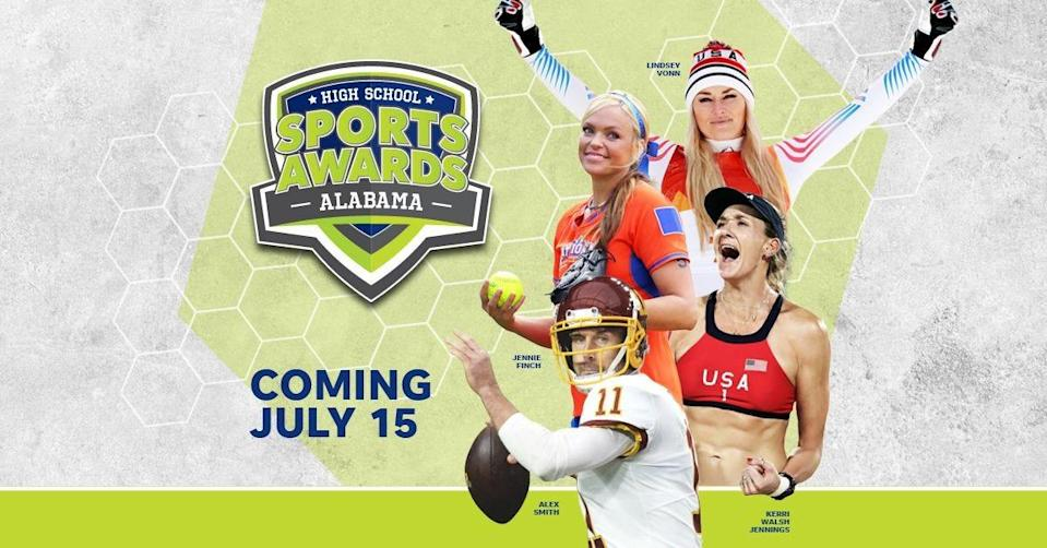 Lindsey Vonn, Alex Smith, Kerri Walsh, and The Bachelor's Matt James and Tyler Cameron, will be among a highly decorated group of presenters and guests for the Alamaba High School Sports Awards