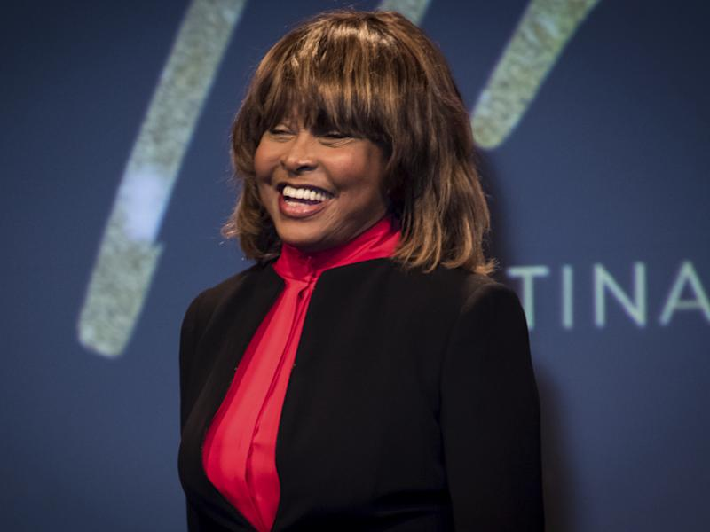 Tina Turner präsentiert in London ihr Musical