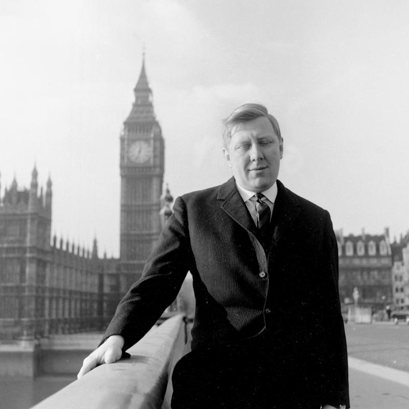 Roy Hattersley, Labour MP, Westminster Bridge, London, 1960s.  - Credit: Heritage Images/Getty Images