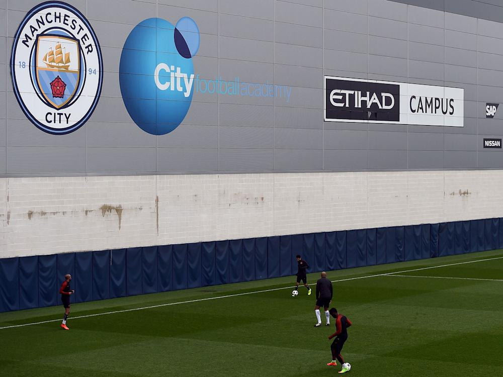 Manchester City are being investigated by the FA over the signing of three young players to their academy: Getty