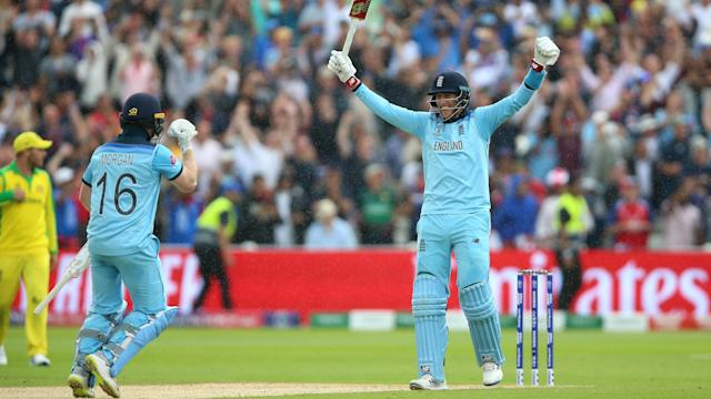 England take on New Zealand in the final at Lord's on Sunday.