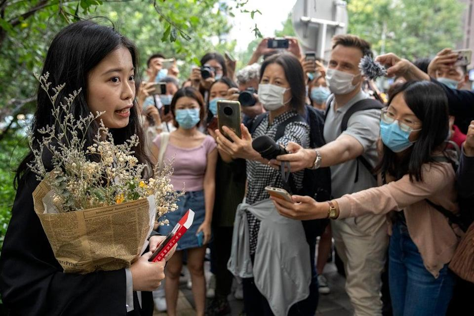 China MeToo (Copyright 2021 The Associated Press. All rights reserved)
