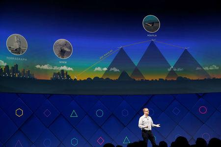 Mike Schroepfer, CTO of Facebook, speaks on stage during the second day of the annual Facebook F8 developers conference in San Jose, California, U.S., April 19, 2017. REUTERS/Stephen Lam