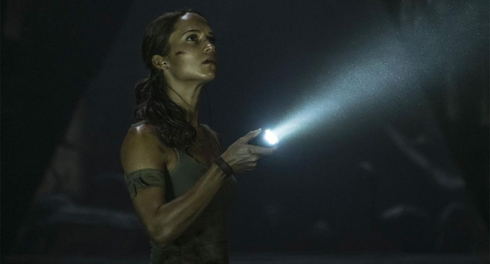 Alicia Vikander as Lara Croft in 2018's Tomb Raider. (Warner Bros.)