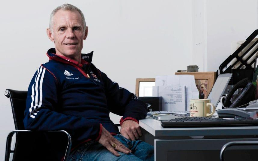 Shane Sutton is alleged to have had a dispute over flight costs with Dr Richard Freeman - PAUL COOPER