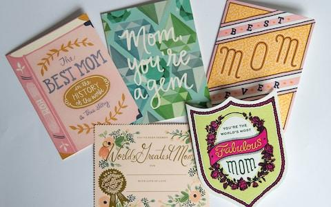 US Mothers' Day Cards - Credit: Julian Simmonds