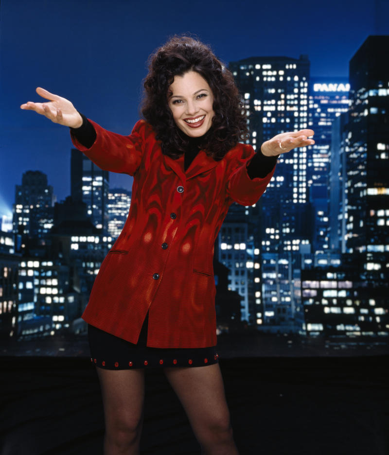LOS ANGELES - JULY 17: The Nanny, a CBS television situation comedy. Premiere episode aired November 3, 1993. Pictured is Fran Drescher (as Fran Fine). Image dated dated July 17, 1998. (Photo by CBS via Getty Images)