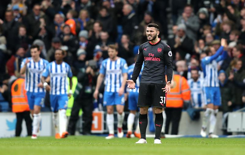 Under fire | Arsenal have lost four straight games: Getty Images