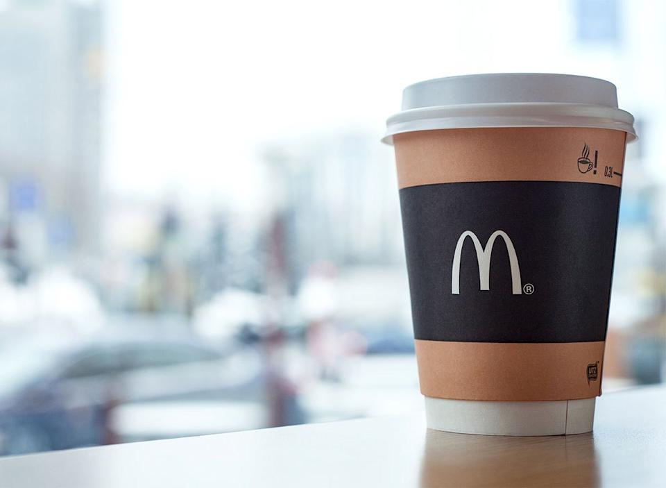 cup of mcdonalds coffee