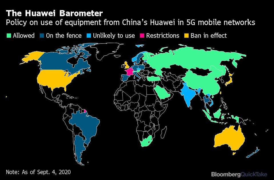 Trump Is Still Trying to Pressure Merkel Into Banning Huawei