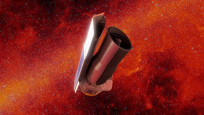 Graphics: Spitzer, now retired, was the only telescope to make the observations