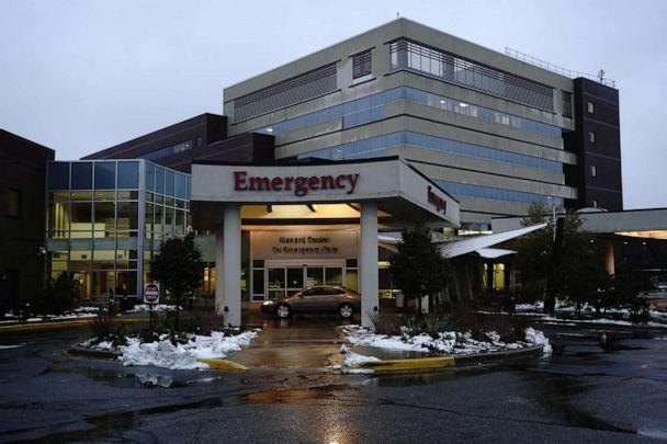PHOTO: A general view of the emergency room at the Mayo Clinic Health System Luther Campus as the coronavirus disease (COVID-19) outbreak continues in Eau Claire, Wisconsin, Oct. 22, 2020. (Bing Guan/Reuters)