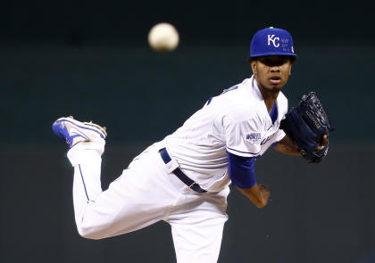 Yordano Ventura pitched seven scoreless innings for the Royals. (USA Today)