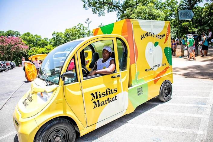 Misfits Market mobile grocery store