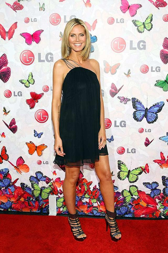 "Heidi Klum served as host for the evening. She definitely had that mom-to-be glow! Kristian Dowling/<a href=""http://www.gettyimages.com/"" target=""new"">GettyImages.com</a> - April 28, 2009"