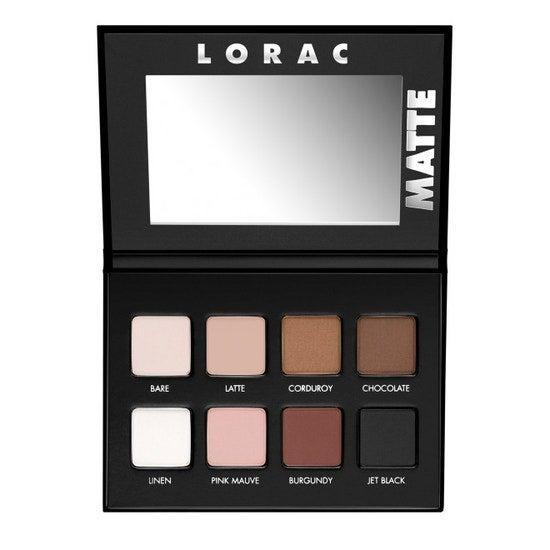 "<h2>Lorac Pro Matte Palette</h2><br>""If you ever see me wearing matte eyeshadow, there's a very good chance it's from this palette, which was introduced to me by a makeup artist who was doing my face for an event. As soon as the velvety powders touched my lids, I knew the palette had to be mine. The packaging is no-fuss, but trust me, the stuff inside is worth its weight in gold. The shadows are almost <em>too </em>pigmented, so a tiny bit goes a long way — I love to use a <a href=""https://www.ulta.com/fluffy-eye-blender-brush?productId=xlsImpprod18591122&sku=2531767"" rel=""nofollow noopener"" target=""_blank"" data-ylk=""slk:fluffy eyeshadow brush"" class=""link rapid-noclick-resp"">fluffy eyeshadow brush</a> and apply the caramel-beige shades for an everyday look, and go for the smoky with the deeper chocolate and black tones for special occasions."" — Karina Hoshikawa, beauty & wellness market writer<br><br><strong>Lorac</strong> PRO Matte Eye Shadow Palette, $, available at <a href=""https://go.skimresources.com/?id=30283X879131&url=https%3A%2F%2Fwww.lorac.com%2Fpro-matte-eye-shadow-palette"" rel=""nofollow noopener"" target=""_blank"" data-ylk=""slk:Lorac"" class=""link rapid-noclick-resp"">Lorac</a>"
