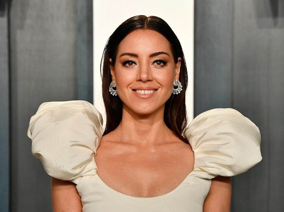 <p>Aubrey Plaza: 'I've always humiliated myself in large groups of people'</p> (Getty)