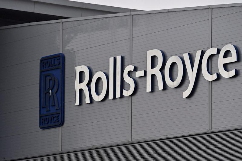 A Rolls-Royce logo is seen at the company's aerospace engineering and development site in Bristol (REUTERS)