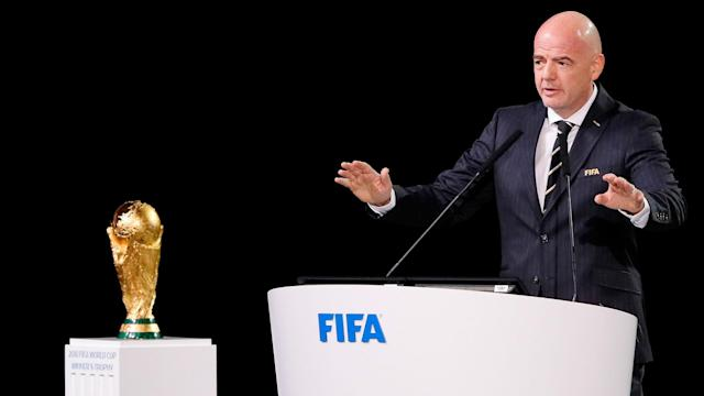 Gianni Infantino confirmed at the FIFA Congress that he will stand for re-election as president of the governing body.