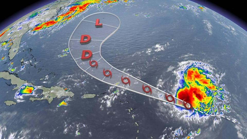 Tropical Storm Josephine set to lose steam through the weekend