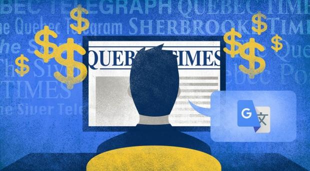 More fake newspaper sites claiming to be based in Quebec pop