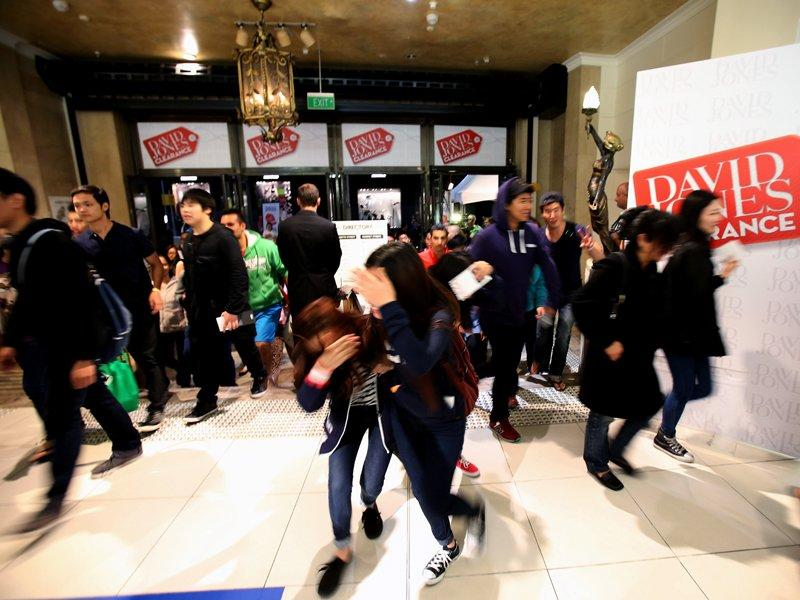 Men leading bumper Boxing Day sales