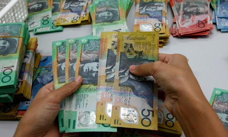 Counting Australian currency