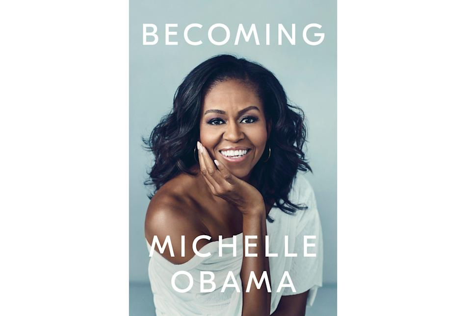 """""""As if I needed another reason to love Michelle Obama, <strong><a href=""""https://amzn.to/31AIaYB"""" target=""""_blank"""" rel=""""noopener noreferrer"""">reading this book</a></strong> offered a rare chance to experience the life moments that shaped her into the influential woman she is today and had me laughing, tearing up and learning with every page. I was inspired by her resiliency, way of viewing the world and how she navigating being a modern woman of color with a career, kids and a partner who would eventually become President of the United States — and yes, the Barack details are juicy and will have you thinking #goals the whole time. So basically by the end of this book, I was ready to set up a stand with copies in Penn Station and ask strangers if they'd like to learn about our lord and savior Michelle Obama."""" — <strong>Danielle Gonzalez, Commerce Content Editor</strong>"""