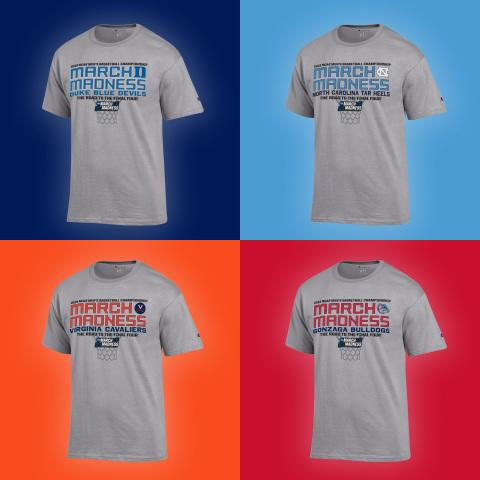 HanesBrands Beats Clock to Deliver Round-by-Round March Madness Tournament Apparel