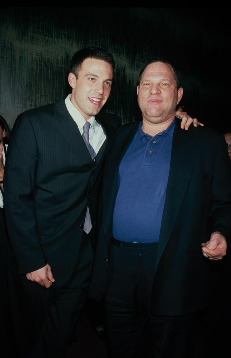 Ben Affleck Harvey Weinstein 1998