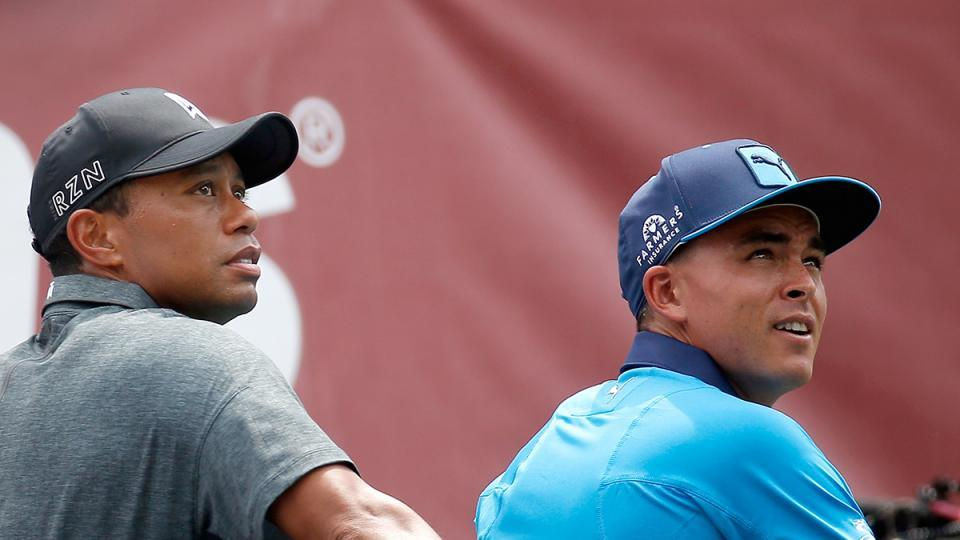 Tiger Woods texted Rickie to 'go get it done' at Honda