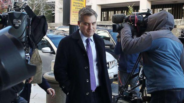 PHOTO: CNN's White House correspondent Jim Acosta arrives for a hearing at the U.S. District Court on Nov. 16, 2018 in Washington. (Mark Wilson/Getty Images)