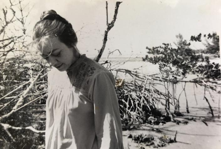 Artist, graphic designer and photographer, Jan Steward in an undated picture from the 1960s. Steward died at 91.