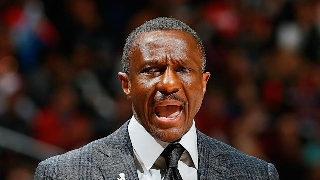 Sacked by the Toronto Raptors after their sweep in the second round of the NBA playoffs, Dwane Casey is in contention for an award.