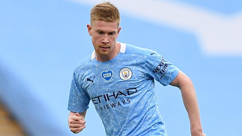 Guardiola praises influence of 'incredible' De Bruyne on patched-up Manchester City