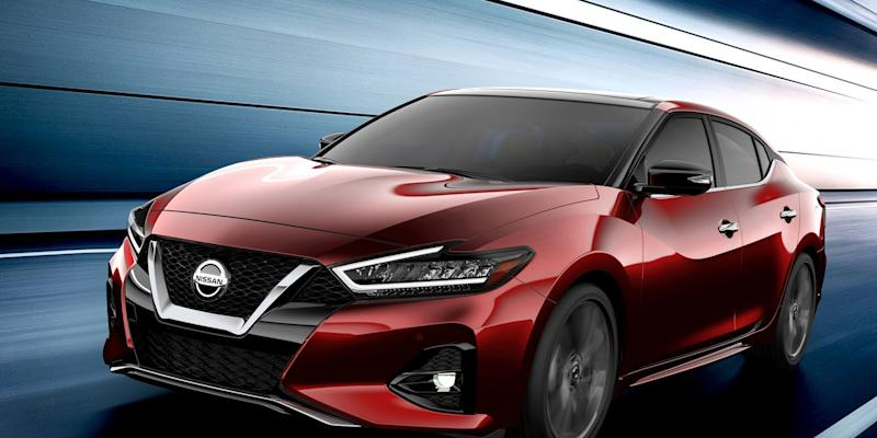 Nissan Maxima revealed with minor nip-tuck