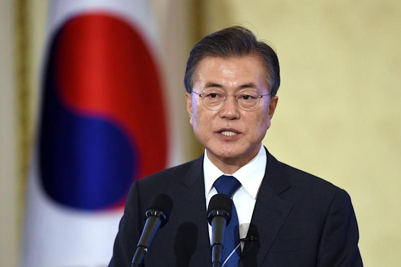 South Korean President Moon Jae-in (Getty Images)