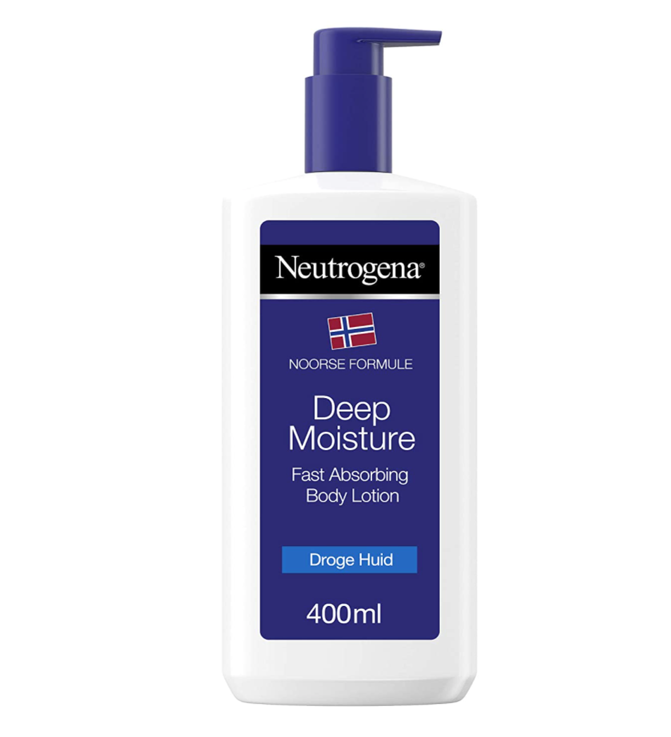 """<p><strong>Neutrogena</strong></p><p>amazon.com</p><p><strong>$10.00</strong></p><p><a href=""""https://www.amazon.com/Neutrogena-Norwegian-Formula-Moisturiser-Lotion/dp/B00GHNYKM8/?tag=syn-yahoo-20&ascsubtag=%5Bartid%7C10055.g.36743140%5Bsrc%7Cyahoo-us"""" rel=""""nofollow noopener"""" target=""""_blank"""" data-ylk=""""slk:Shop Now"""" class=""""link rapid-noclick-resp"""">Shop Now</a></p><p>Another unscented option that Nomy has recommended to his clients for tattoo aftercare is Neutrogena's deep moisture lotion. Reviewers online note there's no greasiness with this option either. </p>"""