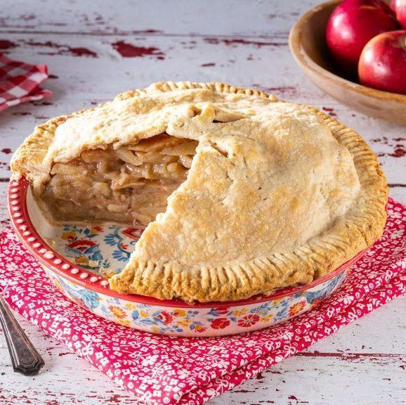"""<p>This classic apple pie is a guaranteed crowd-pleaser. Just be sure to use this guide to the <a href=""""https://www.thepioneerwoman.com/food-cooking/cooking-tips-tutorials/a32177272/best-apples-for-apple-pie/"""" rel=""""nofollow noopener"""" target=""""_blank"""" data-ylk=""""slk:best apples to use for apple pie"""" class=""""link rapid-noclick-resp"""">best apples to use for apple pie</a> before you begin baking. <br> <br><strong><a href=""""https://www.thepioneerwoman.com/food-cooking/recipes/a36211779/homemade-apple-pie/"""" rel=""""nofollow noopener"""" target=""""_blank"""" data-ylk=""""slk:Get the recipe."""" class=""""link rapid-noclick-resp"""">Get the recipe.</a></strong> </p>"""