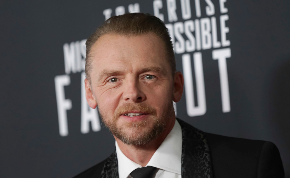 Simon Pegg 'ashamed' of 'Star Wars' toxic fandom