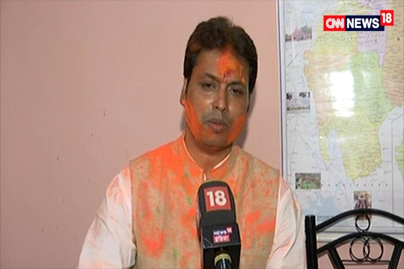 After Jokes, Tripura CM Biplab Deb Uses India's Space Feat to Defend #InternetMahabharata