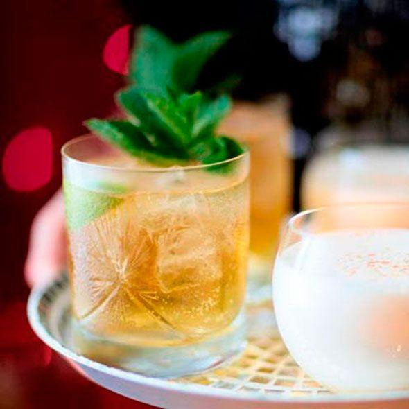 """<p>Inspired by the classic Mint Julep, a great option for a garden party<br><br><strong>Recipe: <a href=""""https://www.goodhousekeeping.com/uk/food/recipes/whisky-refresher"""" rel=""""nofollow noopener"""" target=""""_blank"""" data-ylk=""""slk:Whiskey refresher"""" class=""""link rapid-noclick-resp"""">Whiskey refresher</a></strong><br></p>"""