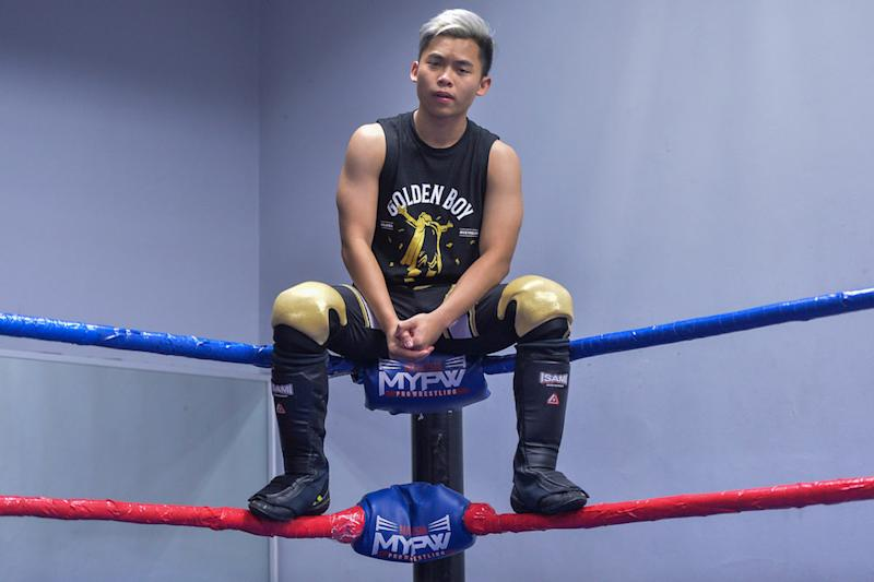Future of Malaysian wrestling Eeman The Kid is honing his skills in Australia in preparation for world domination. — Picture by Mukhriz Hazim