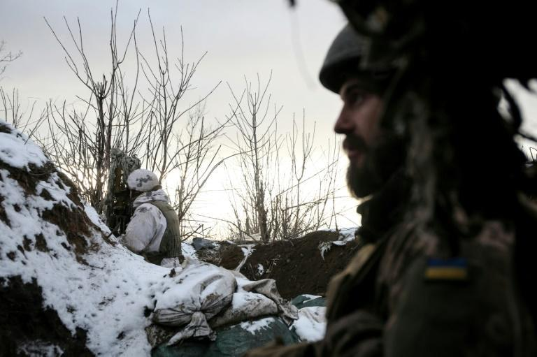Moscow and Kiev this week blamed each other for a rise in violence along the frontline