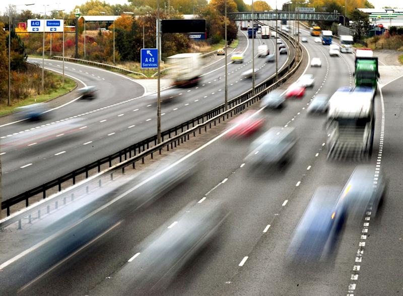 "File photo dated 26/10/09 of traffic on a motorway. Drivers could risk paying hundreds of pounds more than they need to for car insurance due to ""quirks"" in how insurers and comparison websites collect data, according to Which?."
