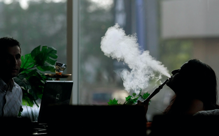 <em>A single session of shisha smoking is said to be worse for your health than smoking a full packet of cigarettes (Getty)</em>