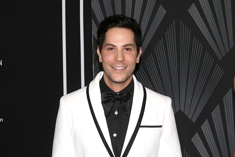 MEXICO CITY, MEXICO - SEPTEMBER 25: Christian Chávez poses for photos during the Black Carpet of the 'GQ Hombres del AÒo 2019' at Fronton Mexico on September 25, 2019 in Mexico City, Mexico. (Photo by Adrián Monroy/Medios y Media/Getty Images)