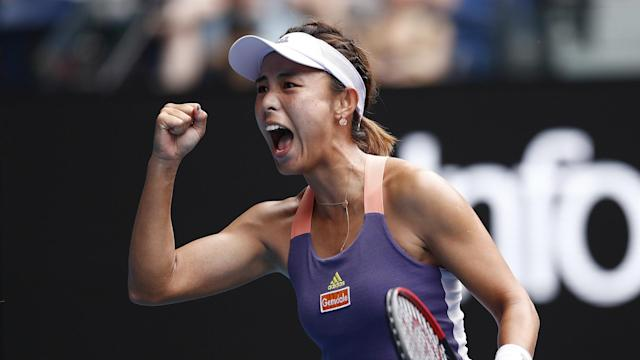 Serena Williams crushed Wang Qiang at the US Open but the Chinese world number 29 was confident of exacting revenge in Melbourne.