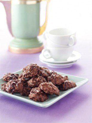 """Okay, cinnamon tastes like Christmas, but mint tastes like winter. We guess you'll just have to make both types of cookie. Learn how to create this at <a href=""""http://www.nigella.com/recipes/view/chocolate-mint-cookies-46"""" target=""""_blank"""">Nigella's website</a>."""